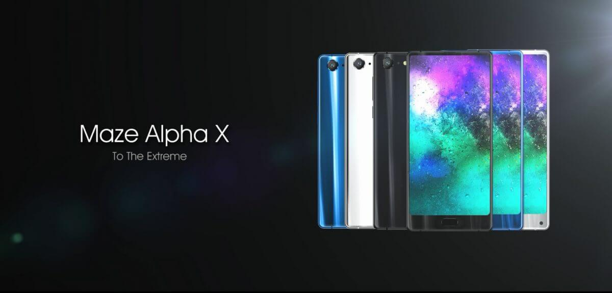 Maze Alpha X Android Smartphone