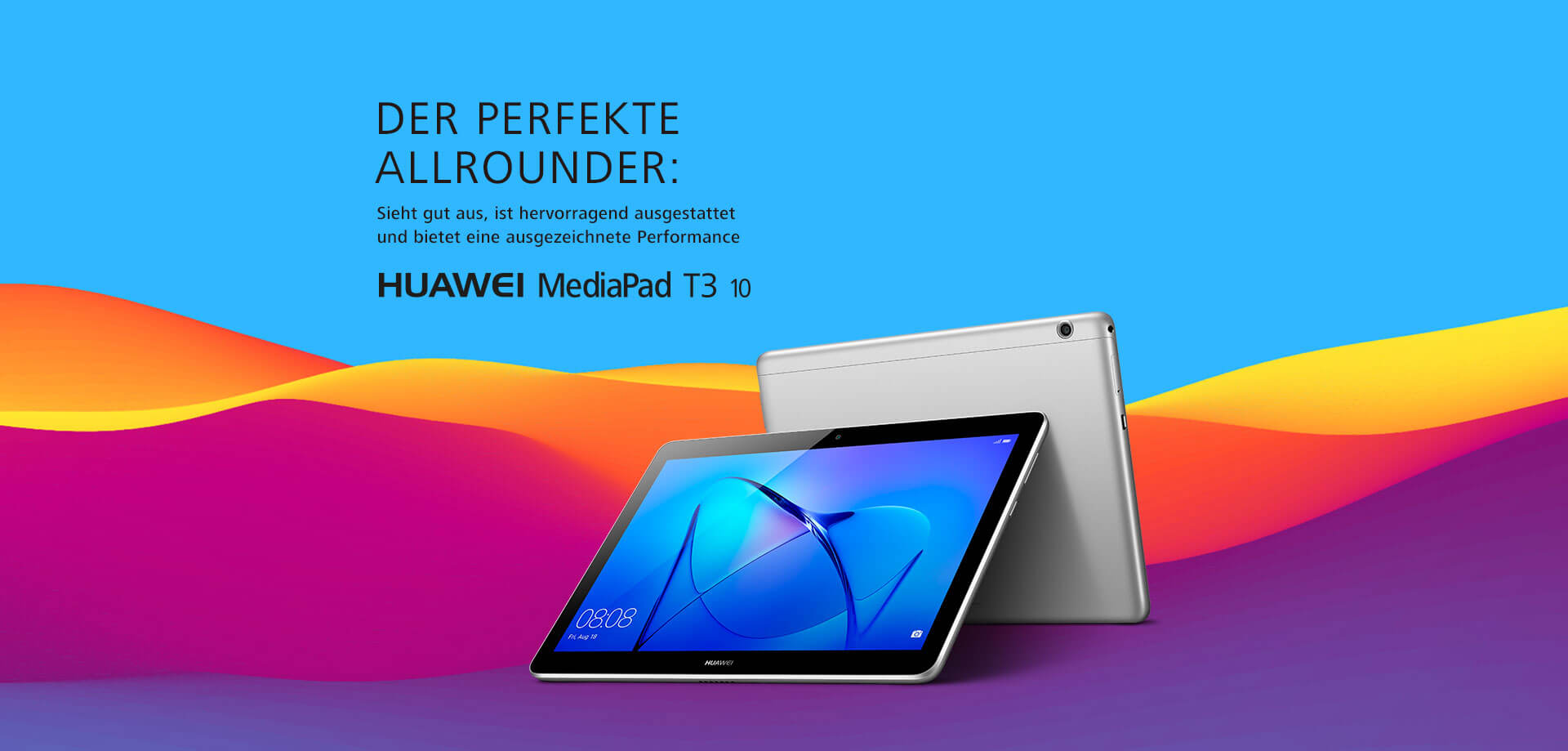 Huawei MediaPad T3 10 Android Tablet
