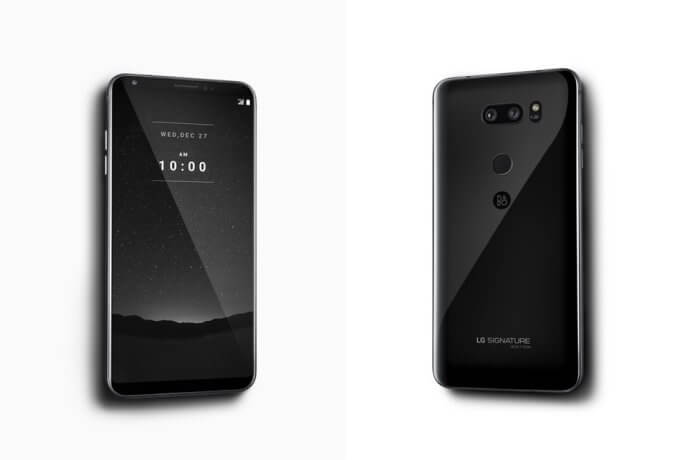 LG V30 Signature Edition Android Smartphone