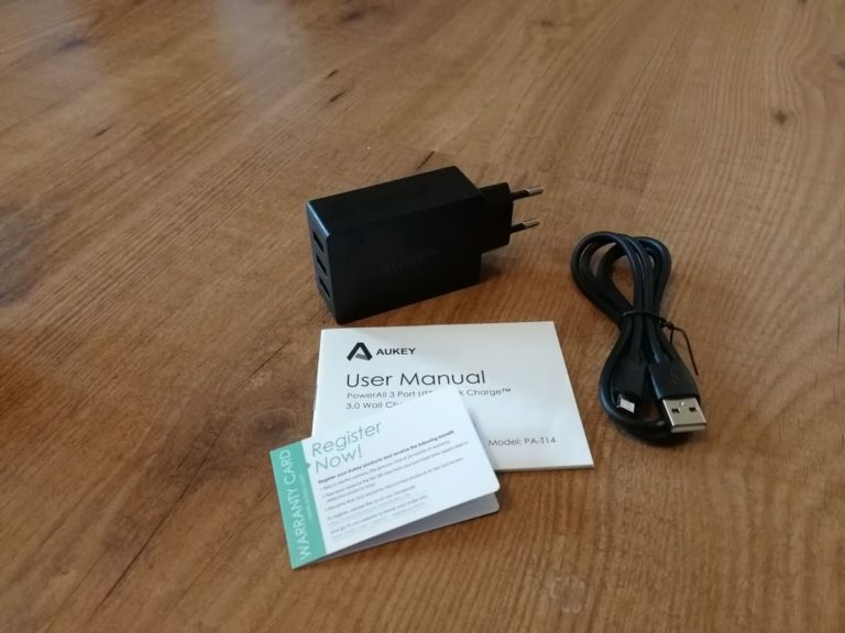 AUKEY PowerAll 3 Port USB Wall Charger