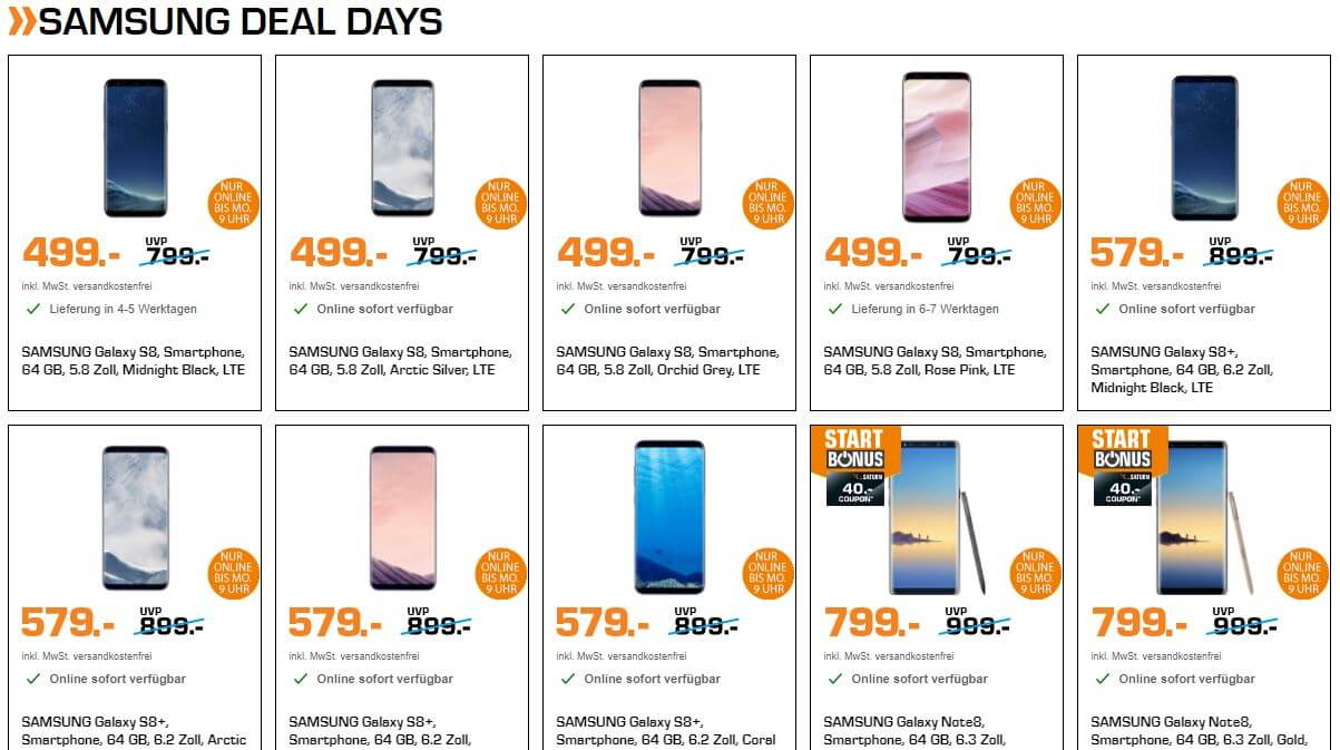 Samsung Deal Days