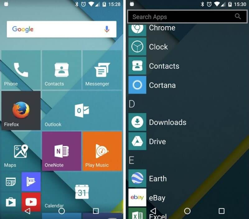 Launcher 10 Android App