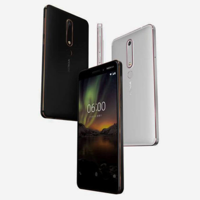 Nokia 6 2018 Android Smartphone
