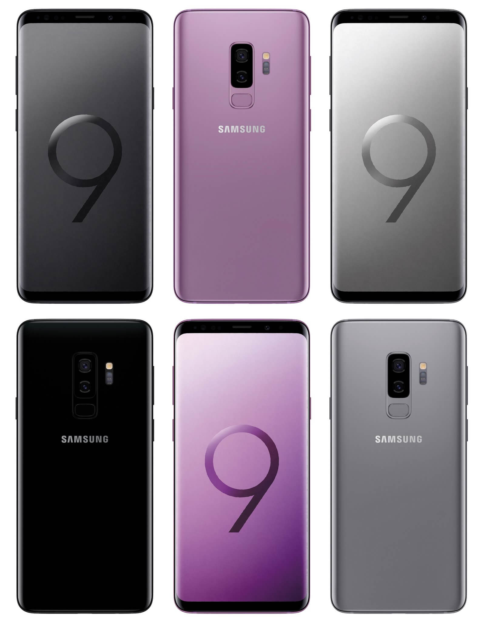 Samsung Galaxy S9+ Android Smartphone