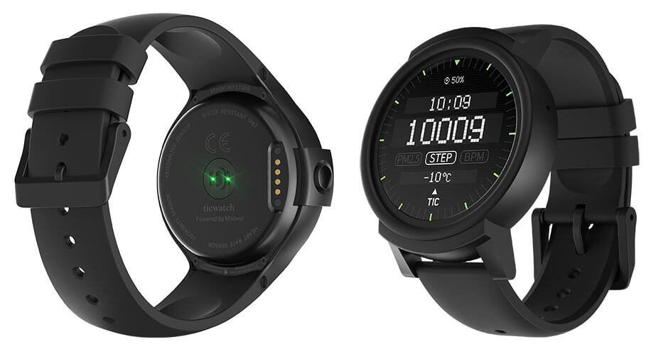 Ticwatch S und E Android smartwatch