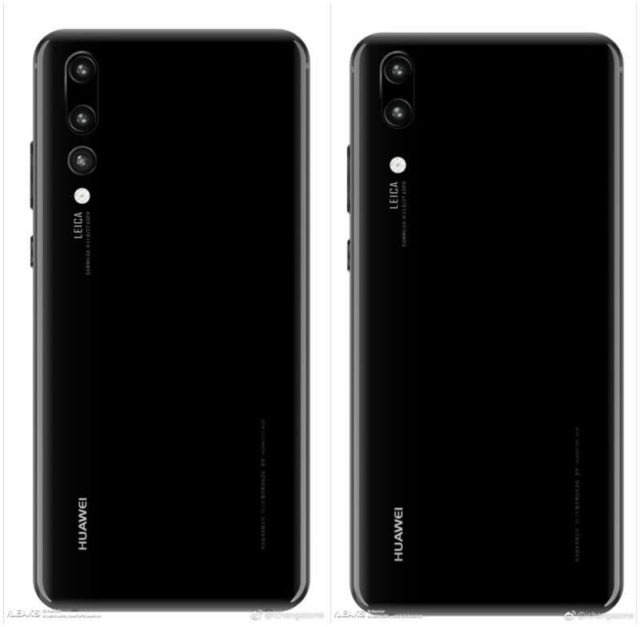 Huawei P20 und Huawei P20 Plus Android Smartphone