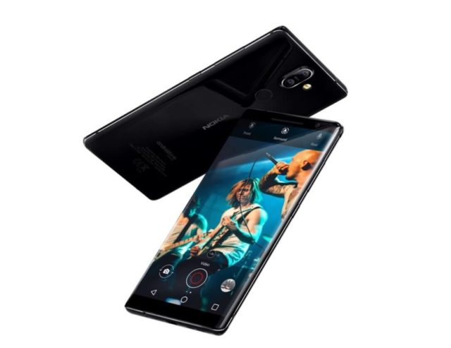 Nokia 8 Sirocco Android Smartphone