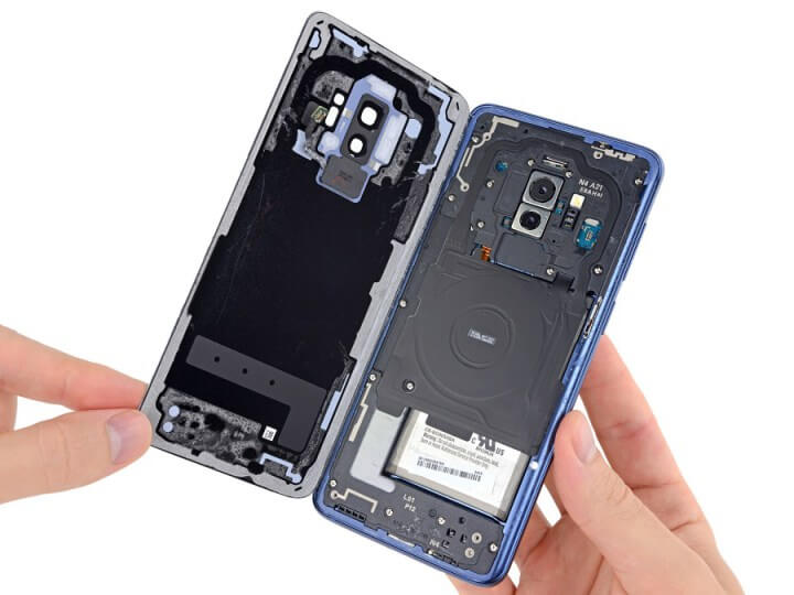 Samsung galaxy s9 teardown video for Samsung galaxy s tablet