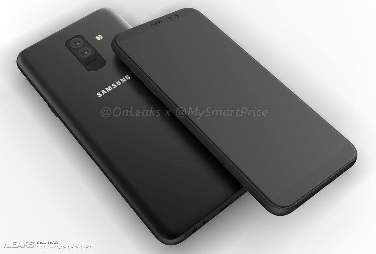Samsung Galaxy A6+ 2018 Android Smartphone