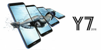 Huawei Y7 2018 Android Smartphone