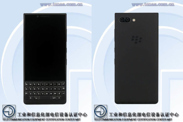 BlackBerry KEYtwo Android Smartphone