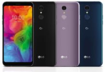 LG Q7 Android Smartphone