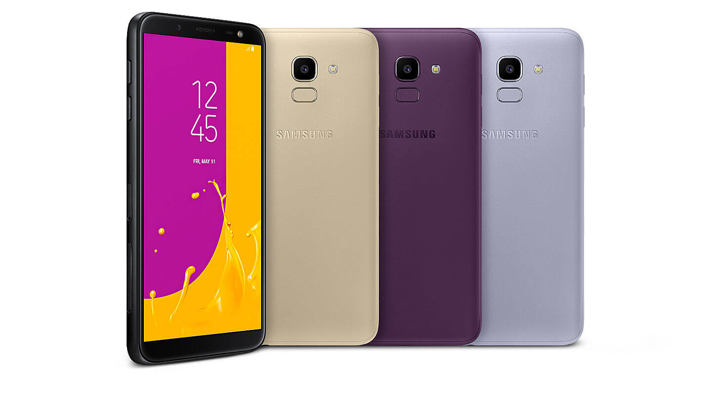 Samsung Galaxy J6 2018 Android Smartphone