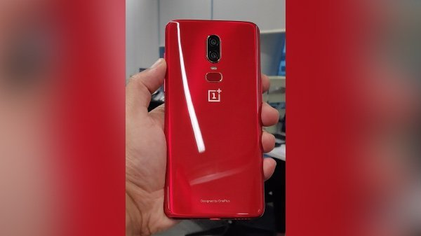 OnePlus 6 rote Special Edition