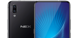 Vivo NEX Ultimate Pressebild