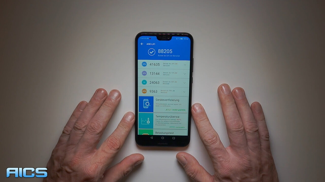 Huawei P20 Lite Benchmark-Video