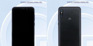 Motorola One Power TENAA