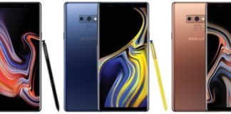 Samsung Galaxy Note 9 Leak