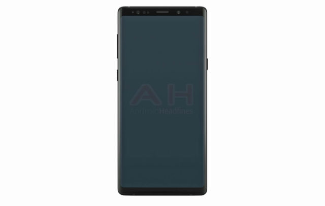 Samsung Galaxy Note 9 Official Render