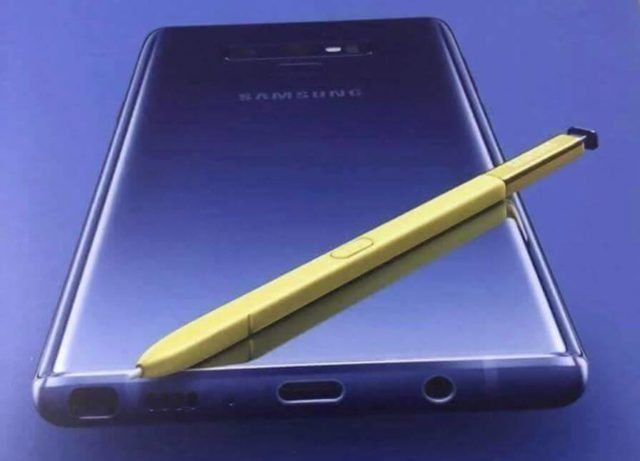 Samsung Galaxy Note 9 Poster Promo-Poster