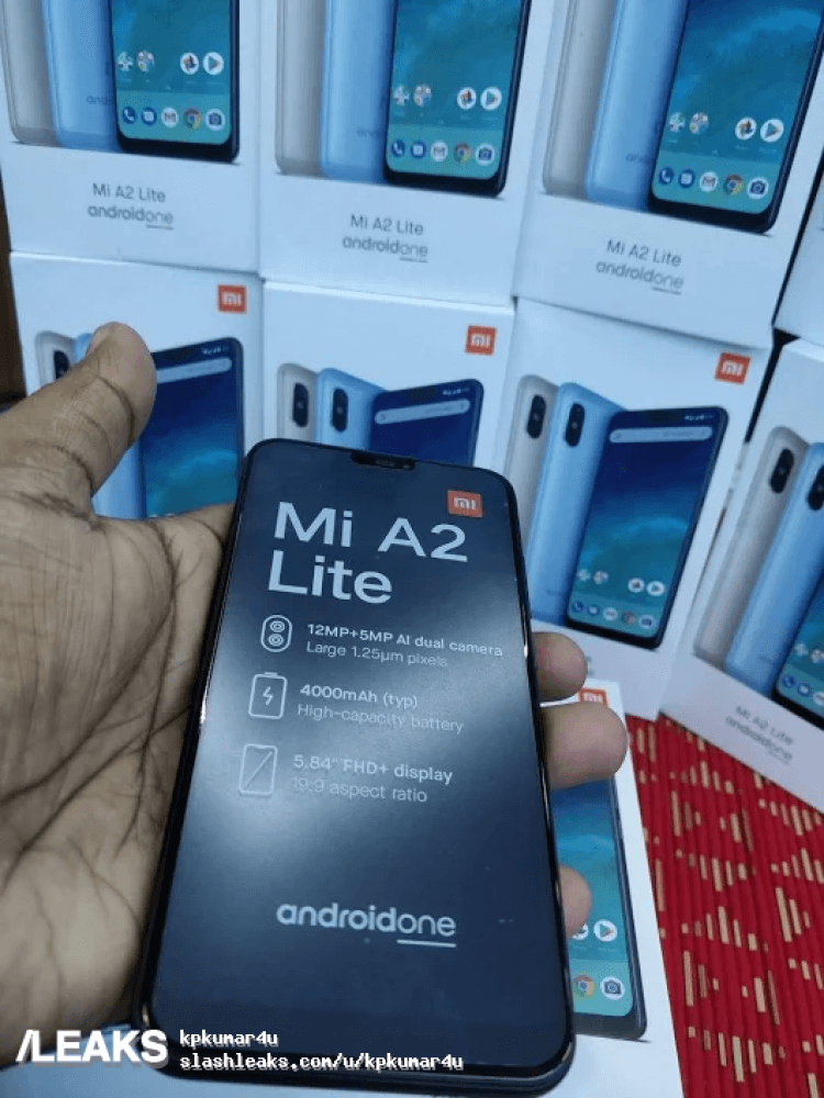 Xiaomi Mi A2 Lite Hands On Bilder Android Ice Cream Sandwich