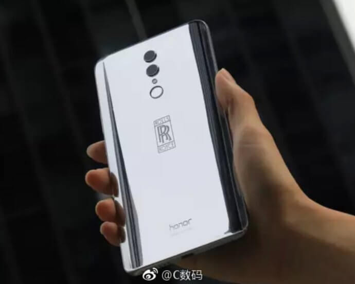 Honor Note 10 Rolls Royce-Edition