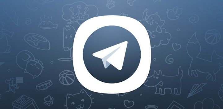 Telegram X Logo