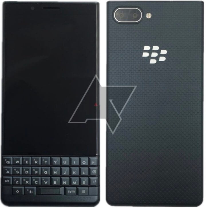 BlackBerry KEY2 LE Leak