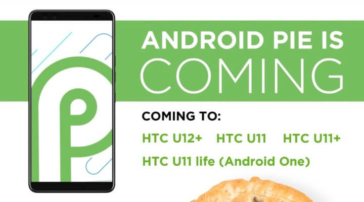 HTC Android Pie Update-Teaser