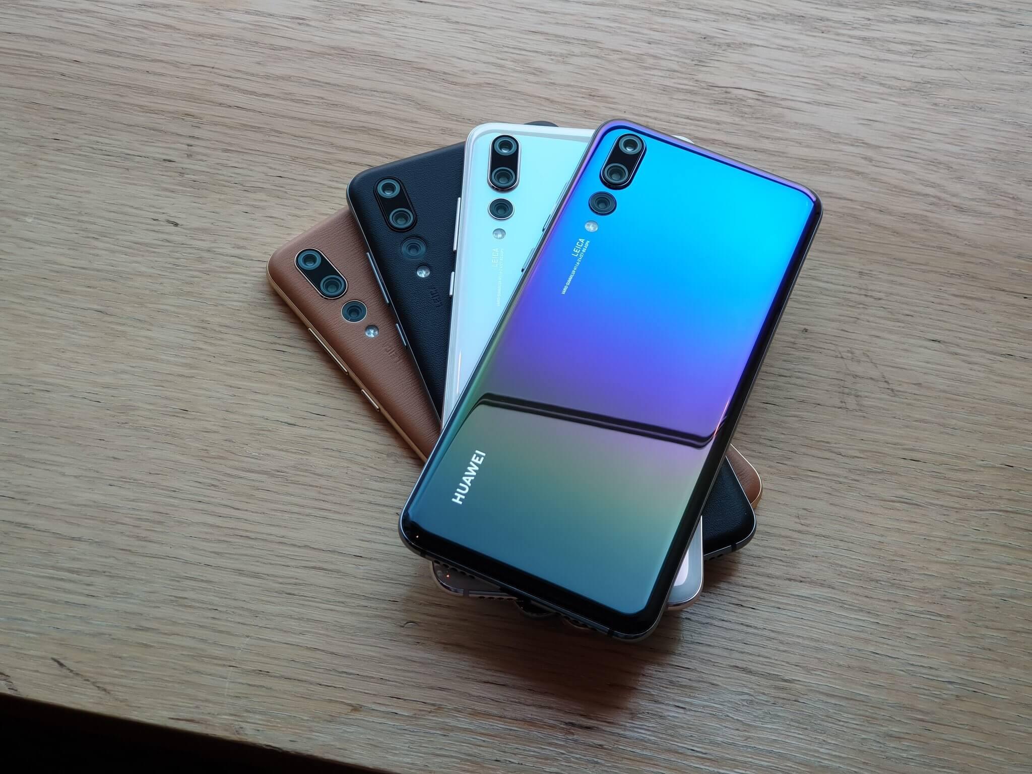 Huawei P20 Pro neue Farben
