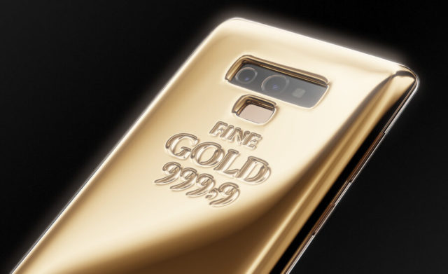 Samsung Galaxy Note 9 Fine Gold