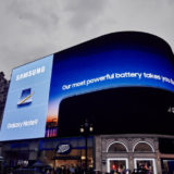 Samsung Galaxy Note 9 Werbung London