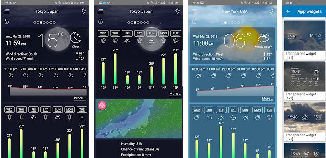 Weather Live Pro Android App