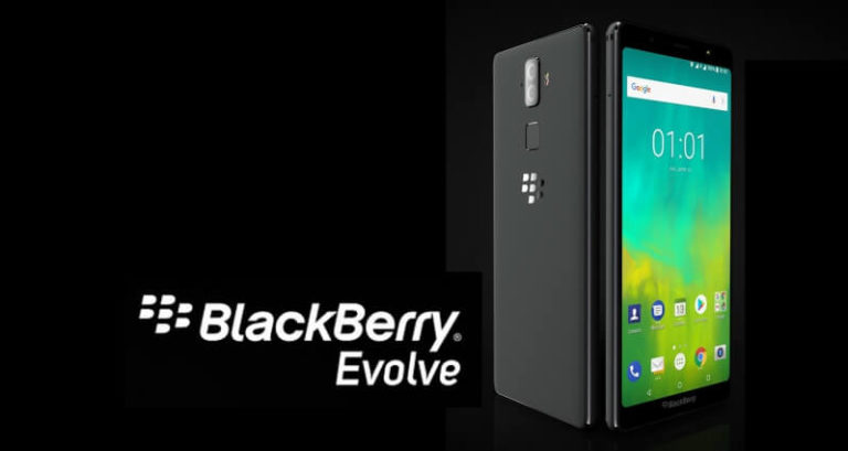 BlackBerry Evolve Pressebild