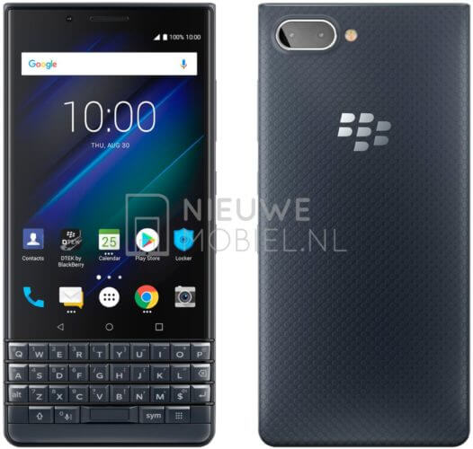 BlackBerry KEY2 LE Blau Pressebild