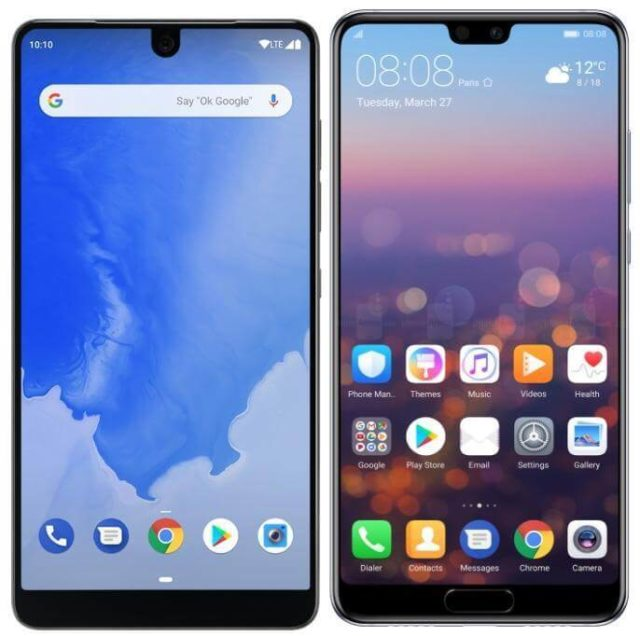 Display Notch Screenshot