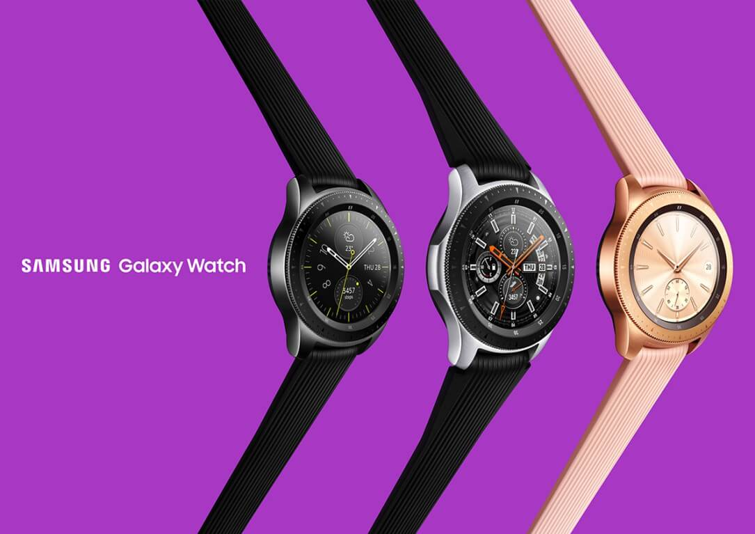 Samsung Galaxy Watch Pressebild