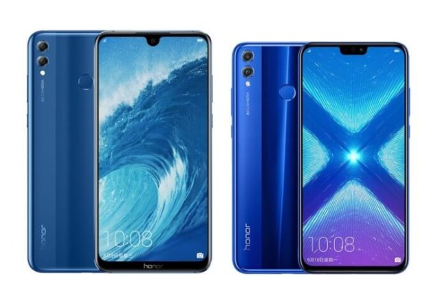 Honor 8X und Honor 8X Max Pressebild
