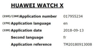 Huawei Watch X Leak
