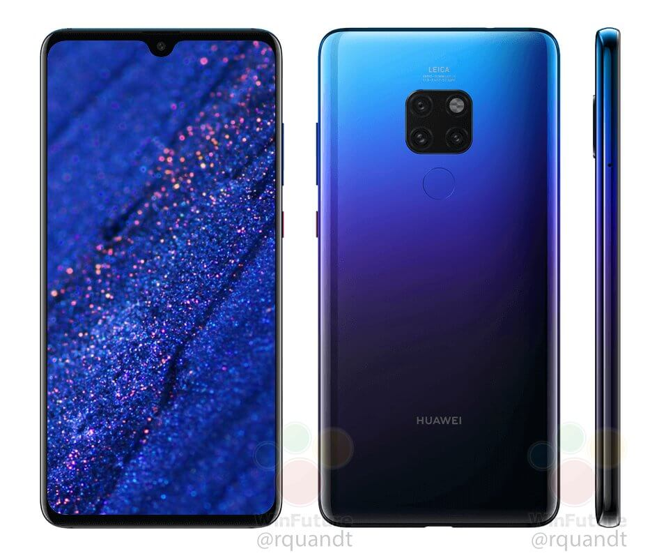 Huawei Mate 20 Twilight Leak