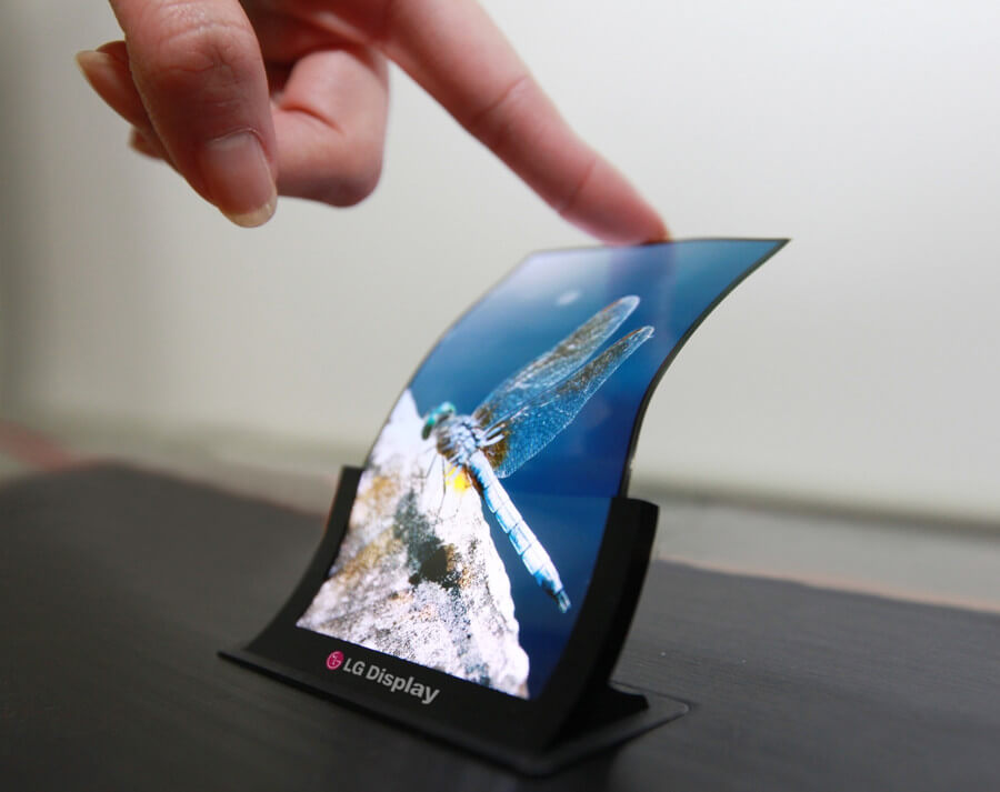 LG flexibles OLED-Panel