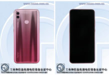 Honor 10 Lite TENAA