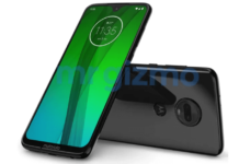 Motorola Moto G7 press-render