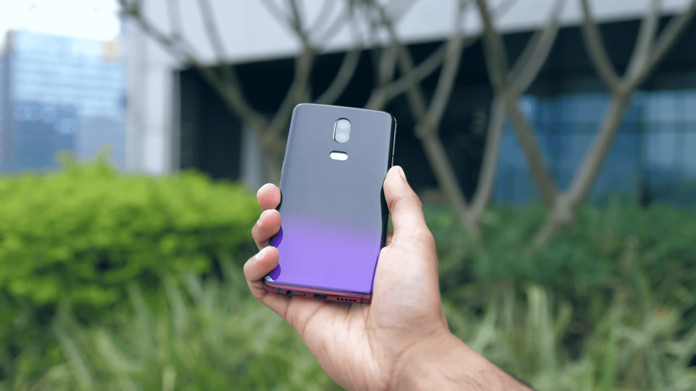"OnePlus 6T ""Thunder Purple"""