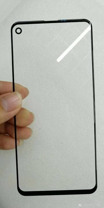 Samsung Galaxy A8s Screen-Protector Leak