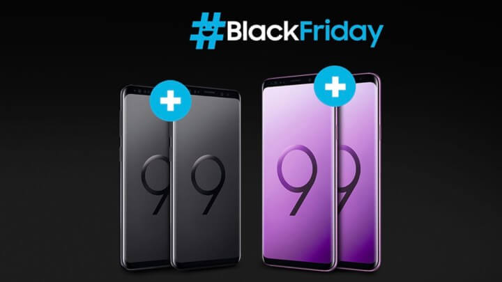 Samsung Galaxy S9 und Galaxy S9+ Black Friday Angebot
