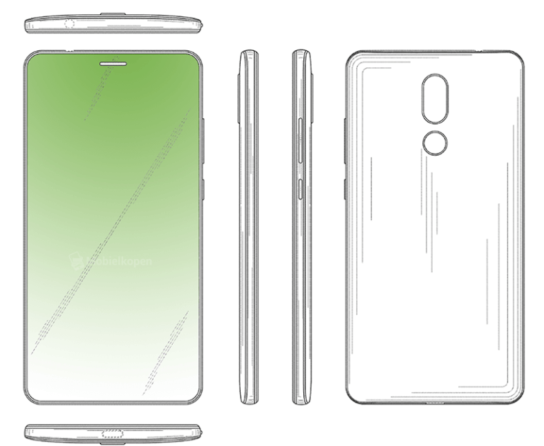 Huawei Display-Patent with Hole