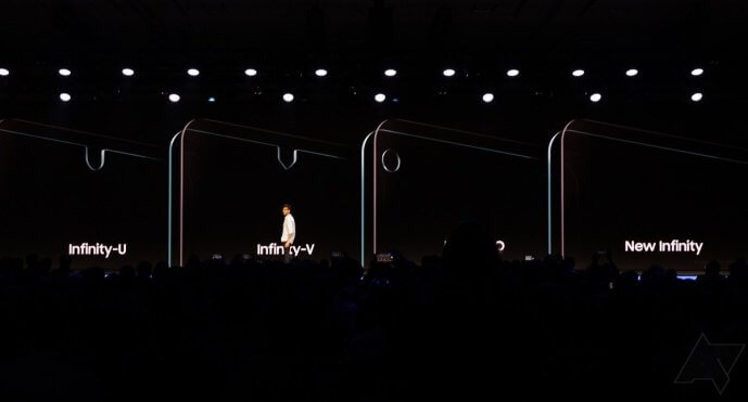 Samsung Infinity Display mit Notch
