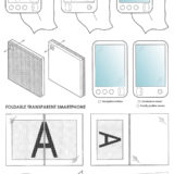 Sony Smartphone transparentes Display Patent