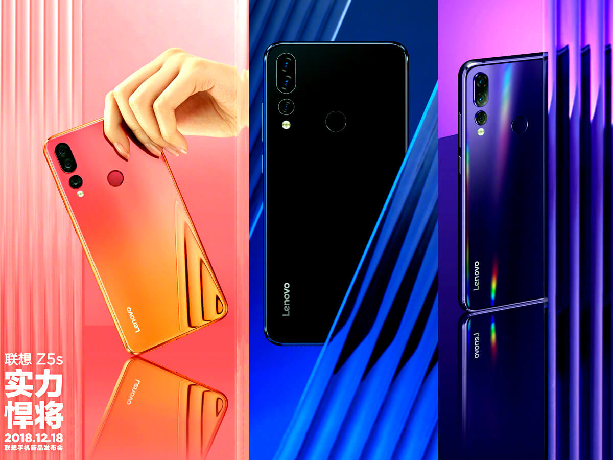 Lenovo Z5s Official Promo-Images